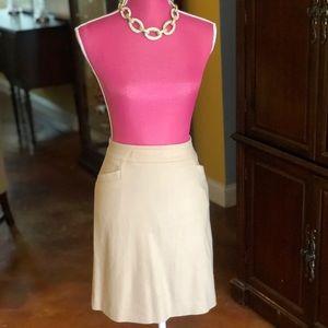 Classic Ann Taylor Khaki skirt size 12